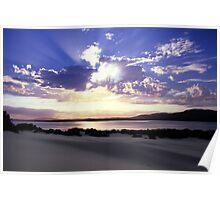 Cloudburst Corner Inlet Poster