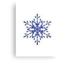 Frozen Snowflake Canvas Print