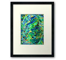 Timaru Paua Dream  Framed Print
