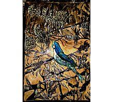 Ying Bird - Woodcut Photographic Print