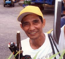 Knife vendor. by ccrcats
