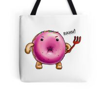 Weaponized Donut Tote Bag