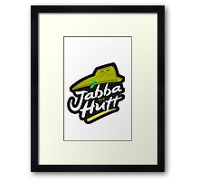 Jabba the Hutt Framed Print