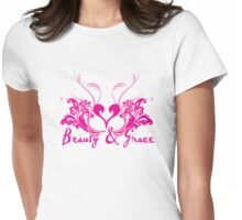 Beauty & Grace Womens Fitted T-Shirt
