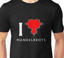 I Heart Mandelbrots Unisex T-Shirt