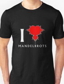 I Heart Mandelbrots T-Shirt