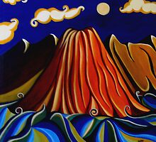 My volcano by Samina Jose Islam