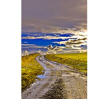Road to the Sky Photographic Print