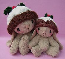 Biddy and Babble, Handmade bears from Teddy Bear Orphans by Penny Bonser