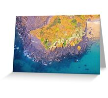 View From The Air. Greeting Card
