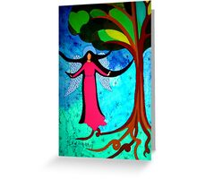 Angels on Earth Greeting Card