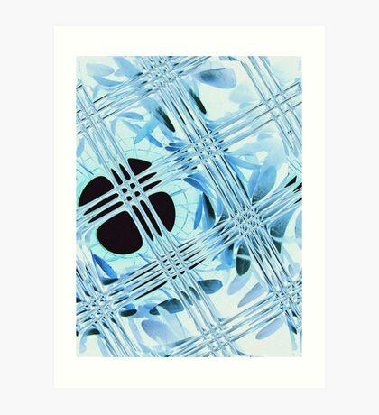 Glimmer Gloss Art Print