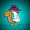 Secret Squirrel by practicecactus