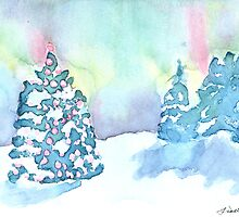 Christmas Under the Aurora by LL deMerle