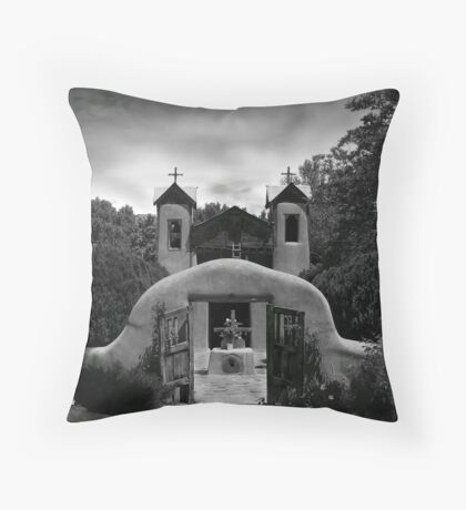 Santuario de Chimayó Throw Pillow
