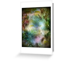 essence of thought Greeting Card