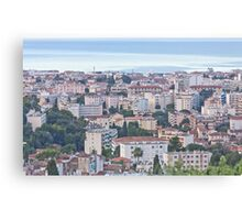 Ambience Near the Seaside Canvas Print