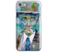 ROBERT OPPENHEIMER - watercolor portrait iPhone Case/Skin