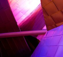 A fraction of the Jay Pritzker Pavilion by Ramona Farrelly