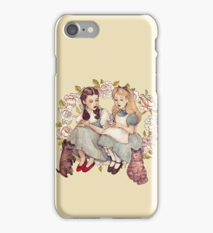 Tea with friends. iPhone Case/Skin