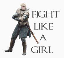 Fight Like a Girl by youburnwithus