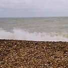 Eastbourne Beach by Kayleigh Sparks
