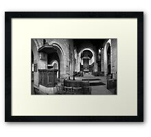 Memorial Kirk Framed Print
