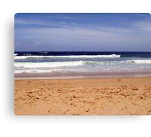 Bar Beach Waves Jan 2008 Canvas Print