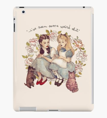 """I've seen some weird shit."" iPad Case/Skin"