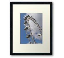Millennium Wheel, London Framed Print