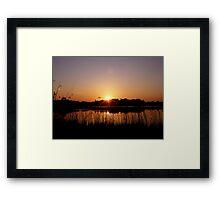 Astbury Mere  Framed Print