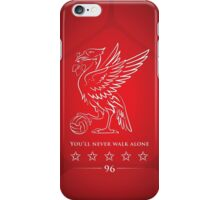 You'll never walk alone iPhone Case/Skin