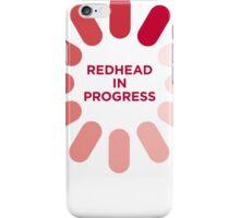 redhead v1 iPhone Case/Skin