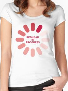 redhead v1 Women's Fitted Scoop T-Shirt