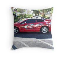 Hot Wheels Car Throw Pillow