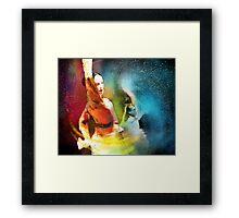 Flamencoscape 08 Framed Print