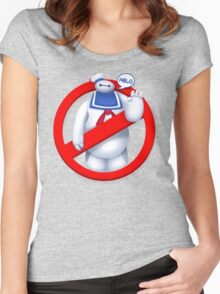 Mr. Baymaxmallow Women's Fitted Scoop T-Shirt