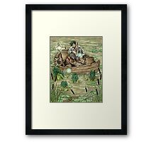 The Sorcerer's Lesson Framed Print