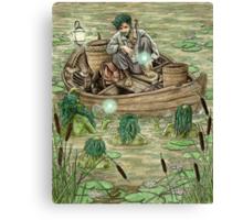 The Sorcerer's Lesson Canvas Print