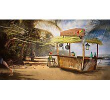 """Denpasar""  Illustration M.Konecka for ""Destin de carte postale"" Photographic Print"