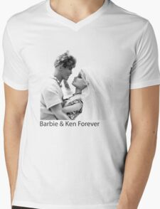 Barbie & Ken Forever Mens V-Neck T-Shirt