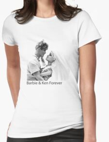 Barbie & Ken Forever Womens Fitted T-Shirt