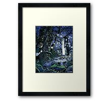 Bright Lands Portal Framed Print