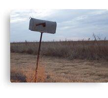 Rural Mailbox Canvas Print