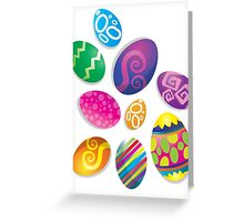 Many Easter eggs  Greeting Card