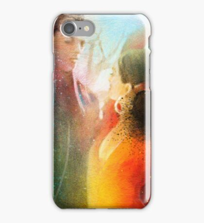 Flamencoscape 09 iPhone Case/Skin
