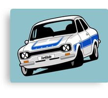 Fortitude's Ford Escort Mark 1 RS2000 Canvas Print