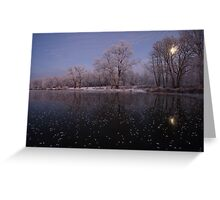 Magical evening  Greeting Card