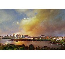 View from Taronga Zoo Photographic Print
