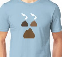 Digital poos crap turds three with smelly stink clouds! Unisex T-Shirt